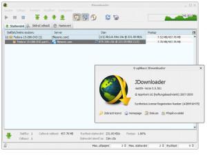 JDownloader - náhled