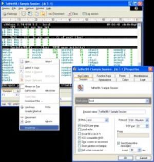 Erics Telnet98 - náhled