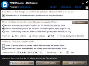 WAU Manager - náhled