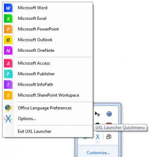 UXL Launcher - náhled