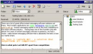 LanTalk NET - náhled