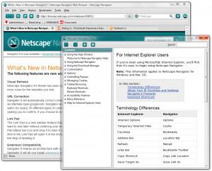 Netscape - náhled
