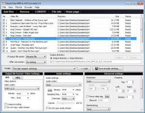 Pazera Free MP4 to AVI Converter - náhled