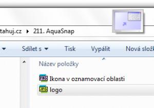 AquaSnap - náhled