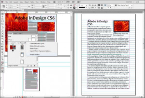Adobe InDesign - náhled