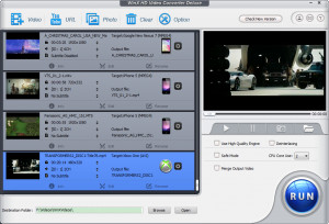 WinX HD Video Converter Deluxe - náhled