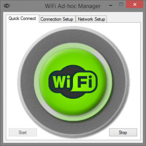 WiFi Ad-hoc Manager - náhled