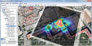 Acrylic WiFi Heatmaps - náhled