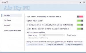 AirMyPC - náhled