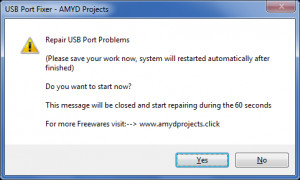USB Port Fixer - náhled