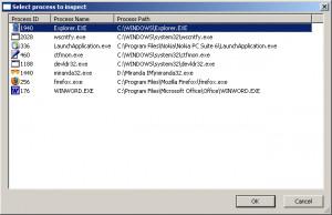 ProcessActivityView - náhled