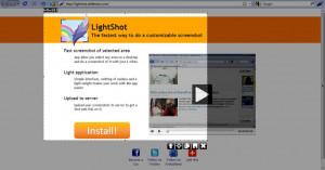 LightShot - náhled