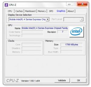 CPU-Z - náhled