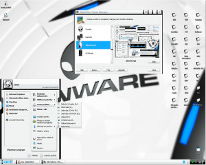 Alienware Themes - náhled