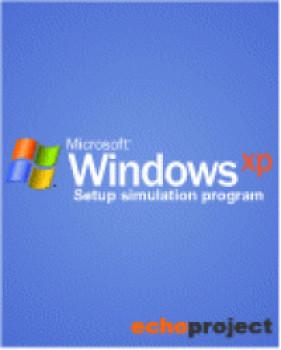 Windows XP Setup Simulator - náhled