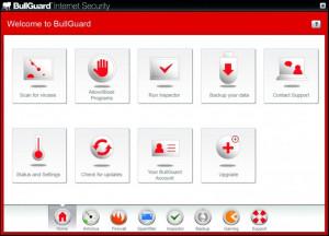 BullGuard Internet Security - náhled