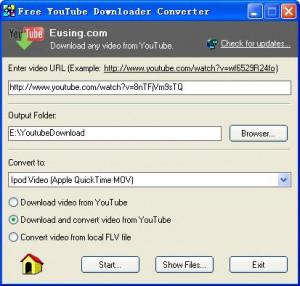 Free YouTube Downloader Converter - náhled