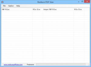 Reduce PDF Size  - náhled