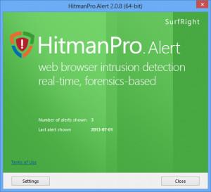 HitmanPro.Alert - náhled