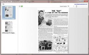 Free CBZ Reader - náhled