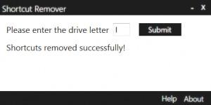 Shortcut Remover - náhled