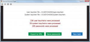 Elcomsoft Password Digger - náhled