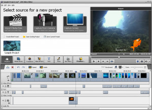 AVS Video Editor - náhled