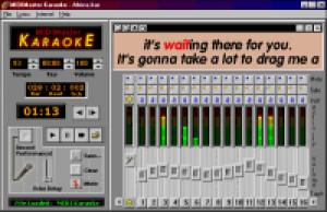 MIDIMaster Karaoke - náhled