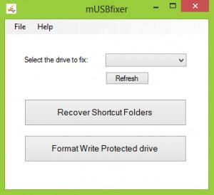mUSBfixer - náhled