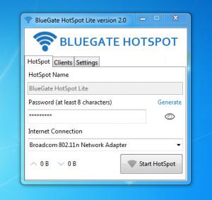 BlueGate HotSpot - náhled