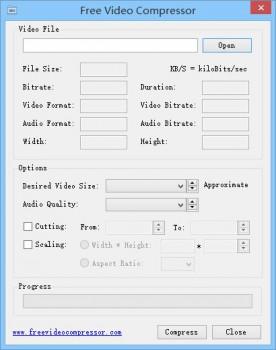 Free Video Compressor - náhled