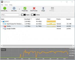 NetMaster - náhled