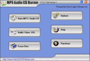 MP3 Audio CD Burner - náhled
