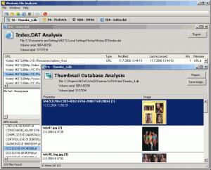 MiTeC Windows File Analyzer - náhled