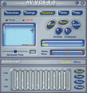 AV Voice Changer Software - náhled