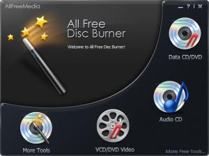 All Free Disc Burner - náhled