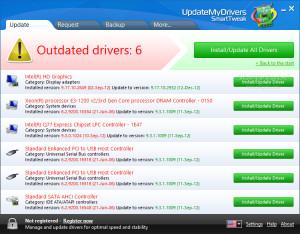 UpdateMyDrivers - náhled