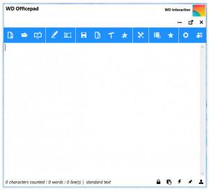 WD Officepad - náhled