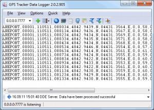 GPS Tracker Data Logger - náhled