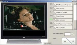 Stream TV - náhled