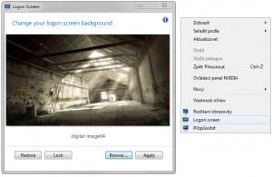 Windows 7 Logon Screen - náhled