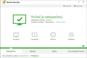 Norton Security - náhled