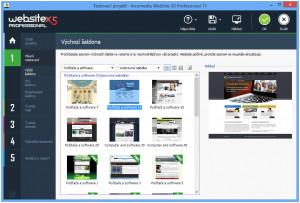 WebSite X5 - náhled