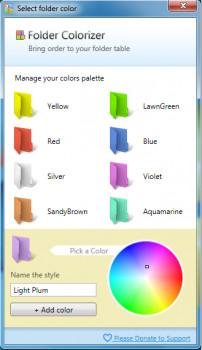 Folder Colorizer - náhled