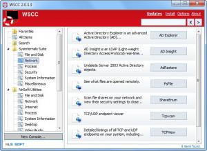 Windows System Control Center - náhled
