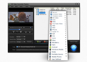 HD Video Converter Factory - náhled