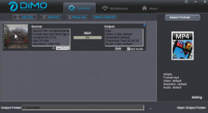 Dimo Video Converter Ultimate - náhled