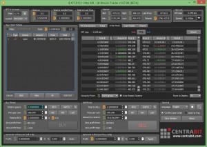 Qt Bitcoin Trader - náhled