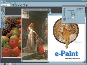 e-Paint - náhled