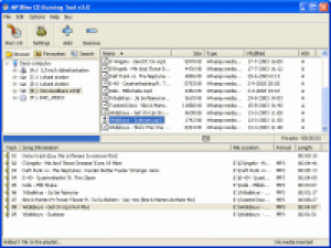 MP3Bee CD Burning Tool - náhled